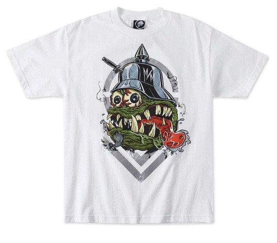 koszulka METAL MULISHA - FLYCATCHER biała