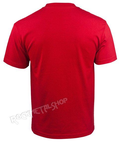 koszulka METAL MULISHA - SLAYER BY THE SWORD RED