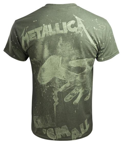 koszulka METALLICA - KILL 'EM ALL olive, Allprint