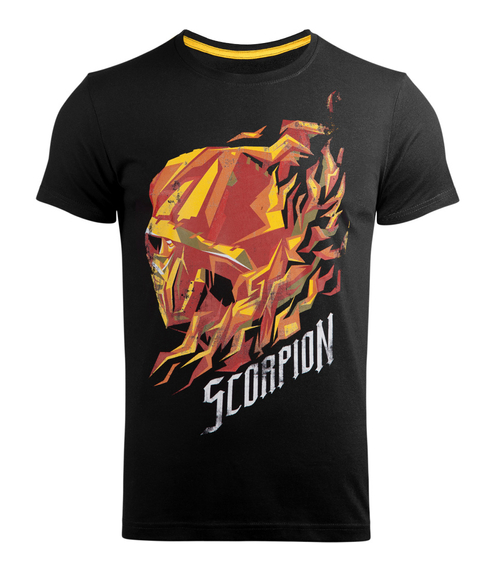 koszulka MORTAL KOMBAT - SCORPION FLAME