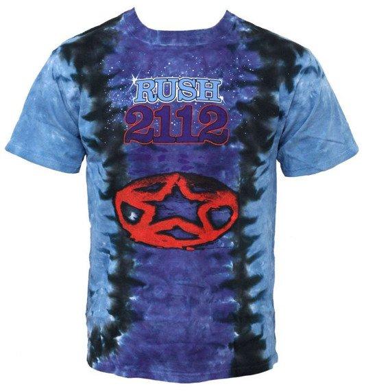 koszulka THE RUSH - PENTAGRAM, barwiona