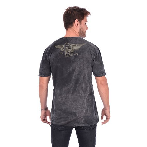 koszulka WEST COAST CHOPPERS - CROSS WINGS, barwiona