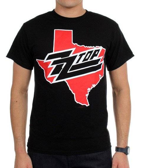 koszulka ZZ TOP - ZZ TOP BLACK PHOTO