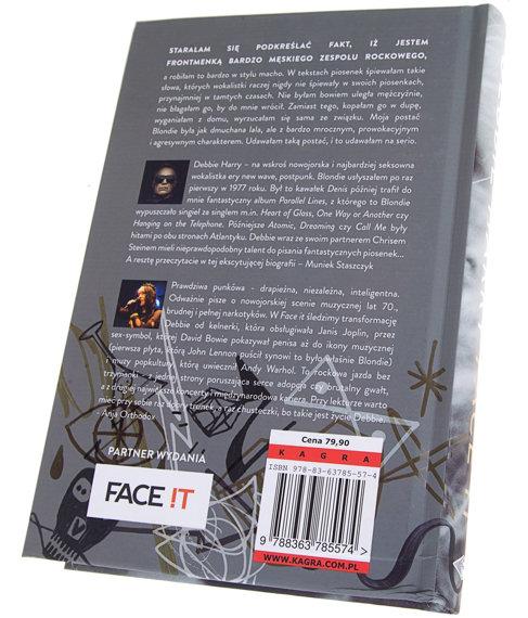 książka FACE IT - DEBBIE HARRY