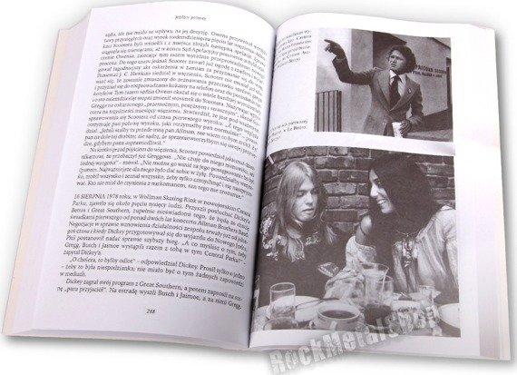książka JEŹDŹCY PÓŁNOCY - BIOGRAFIA THE ALLMAN BROTHERS BAND autor-Scott Freeman [kag]
