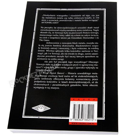 książka KREW OGIEŃ ŚMIERĆ - HISTORIA SZWEDZKIEGO METALU Ika Johannesson, Jon Jefferson Klingberg