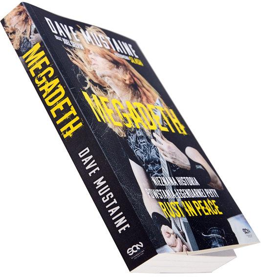 książka MEGADETH - NIEZNANA HISTORIA POWSTANIA LEGENDARNEJ PŁYTY RUST IN PEACE