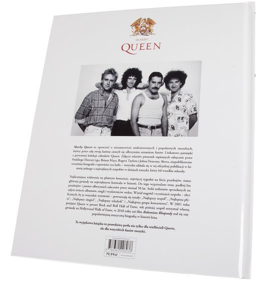 książka SKARBY QUEEN - OFICJALNA HISTORIA LEGENDY ROCKA