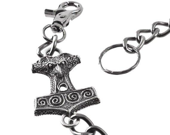 łańcuch do kluczy / portfela MŁOT THORA