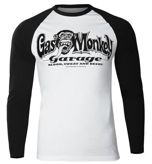 longsleeve GAS MONKEY GARAGE - LOGO