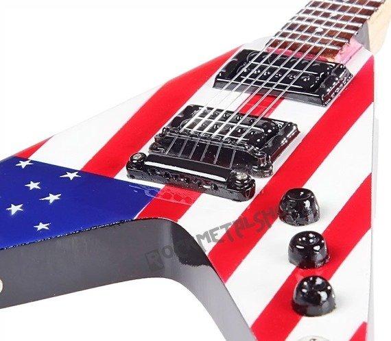 miniaturka gitary MEGADETH - DAVE MUSTAINE: DEAN Y2KV
