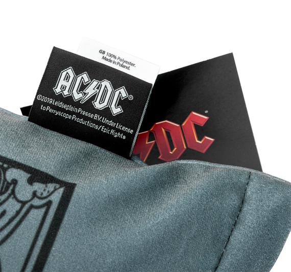 poduszka AC/DC - BLACK ICE GREY (45*45 cm)