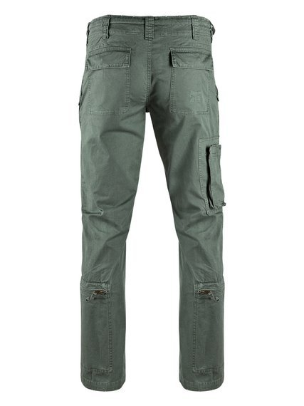 "spodnie bojówki FLIEGERHOSE COTTON VINTAGE "" STRAIGHT CUT "" OLIV"