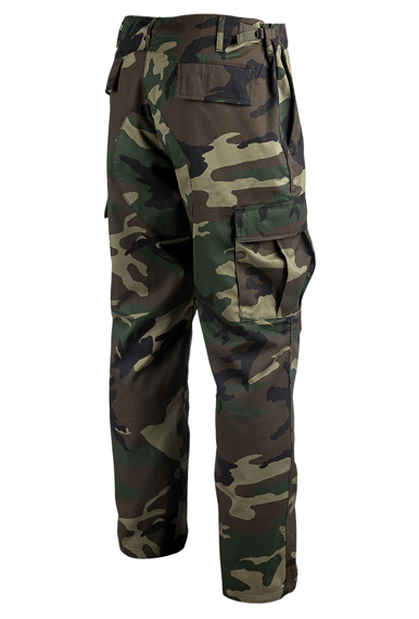 spodnie bojówki MMB US BDU HOSE WOODLAND