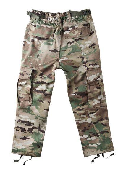 spodnie bojówki US BDU HOSE MULTITARN, dziecięce