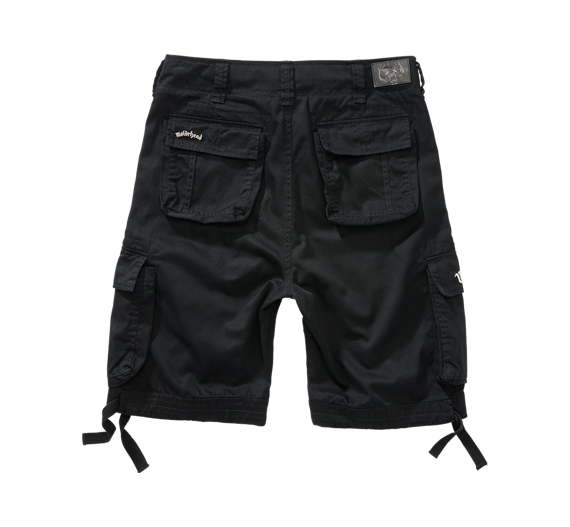 spodnie bojówki krótkie MOTORHEAD URBAN LEGEND - BLACK