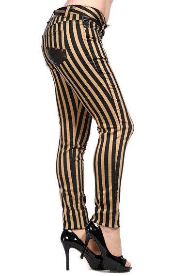 spodnie damskie BANNED - STRIPES