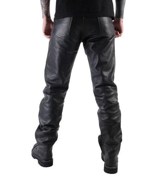 spodnie skórzane OSX - MARTIN BLACK