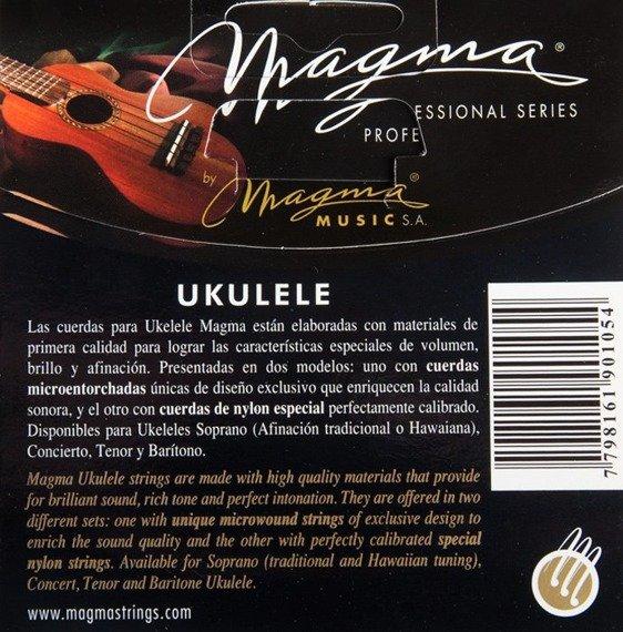 struny do ukulele tenorowego MAGMA TENOR Clear Nylon