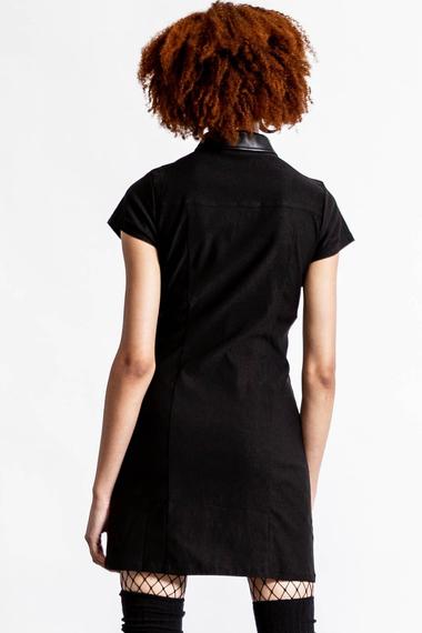 sukienka KILLSTAR - ALL ATTITUDE (BLACK)