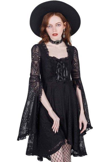 sukienka KILLSTAR - KILLING KISSES (BLACK)