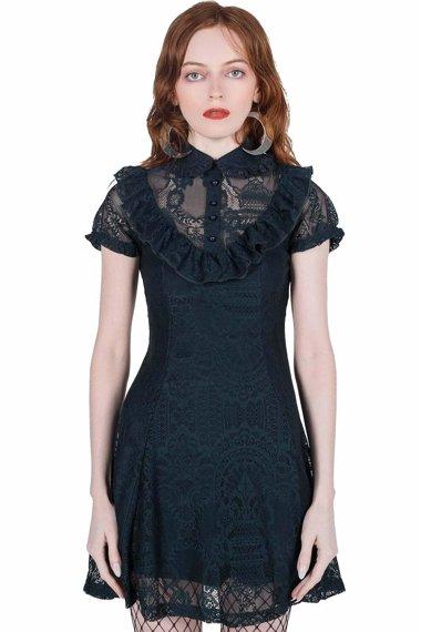 sukienka KILLSTAR - SHE'S LACED (EMERALD)