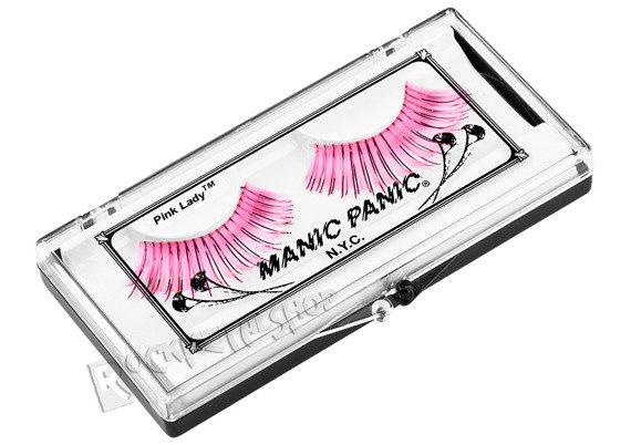 sztuczne rzęsy MANIC PANIC - GLAM LASHES - PINK LADY