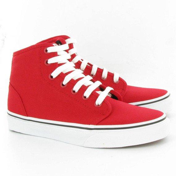 trampki VANS - 106 HI RED TRUE WHITE