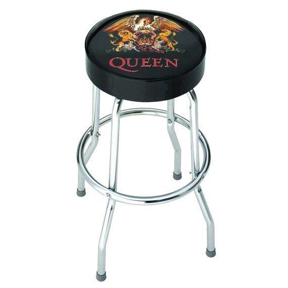 zestaw stolik + dwa hokery QUEEN - CLASSIC CREST