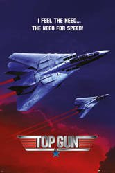 plakat TOP GUN - THE NEED FOR SPEED